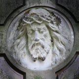 Statue antique de Jesus Christ Photos libres de droits