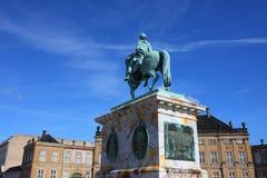 Statue antique de l'Europe Photographie stock