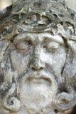 Statue antique de la couronne de Jesus Christ des épines Religion, foi, la mort, concept de résurrection image libre de droits