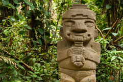 Statue antique jouant la cannelure Images libres de droits