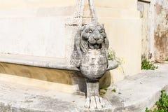 Statue antique romaine de marbre Sculpture en style romain photographie stock libre de droits