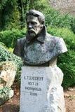 Statue of Anton Chekhov Royalty Free Stock Photography