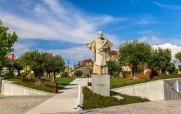 Statue of Antonio Ferreira Gomes in Porto Royalty Free Stock Images