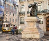 Statue of Antonio Ribeiro Stock Image