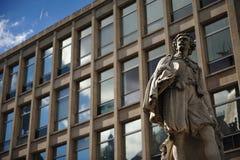 Statue in Antwerpen, Belgien Lizenzfreies Stockfoto