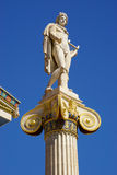 Statue of Apollo,Academy of Athens, Greece Stock Image