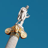 Statue of Apollo, Athens Royalty Free Stock Photo