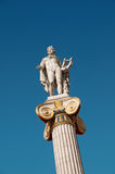 Statue of Apollo, Athens Royalty Free Stock Photos