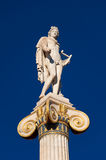 The statue of Apollo. Athens, Greece. Royalty Free Stock Photography