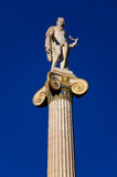 The statue of Apollo. Athens, Greece. Stock Photos