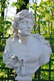 Statue of Apollo, the god of Greek mythology. Royalty Free Stock Image