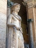 Statue of Apollo, Vatican Museum Stock Photography