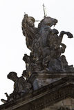 Statue of the Apostle James on horseback Royalty Free Stock Photo