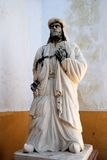 Statue of Arab poet, Cabra. Royalty Free Stock Images