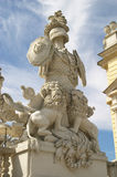 Statue. Of arbour. Schonbrunn. Vienna Royalty Free Stock Photos