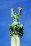 Statue of archangel Gabriel Royalty Free Stock Photography