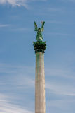 Statue of Archangel Gabriel Royalty Free Stock Photos