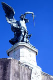Statue Archangel of Saint Michael Royalty Free Stock Photo