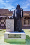Statue of archbishop Khachatour Kesaratsi Stock Images