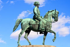 Statue of archduke Albrecht of Austria, Vienna Stock Photos