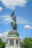 Statue of the Archduke Charles of Austria, Duke of Teschen Royalty Free Stock Image