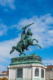 Statue of Archduke Charles Stock Photography