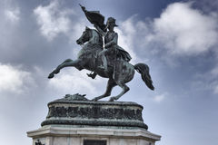 Statue of Archduke Charles Royalty Free Stock Photo