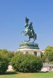 Statue of Archduke Karl-Ludwig-John on Heldenplatz. Vienna Stock Photography