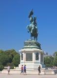 Statue of Archduke Karl-Ludwig-John on Heldenplatz. Vienna Stock Photos