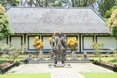 Statue in areal of Prambanan stock photo