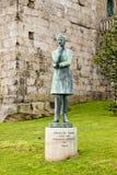 Statue of Arnaldo Gama Royalty Free Stock Photo