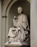 Statue of Arnolfo di Cambio by Luigi Pampaloni he was a famous Italian Renaissance architect Royalty Free Stock Photography
