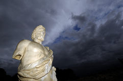 Statue of Asclepius in  Empúries, Girona provine, Stock Photography