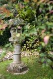 Statue asiatique de jardin. Photographie stock libre de droits