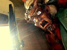 Asmodeus in Rennes le Chateau Royalty Free Stock Photos