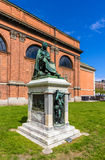 Statue of Asmus Jacob Carstens in Copenhagen Royalty Free Stock Photos
