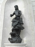 Statue in Astana Stock Photos