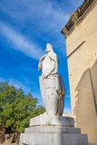 Statue of spanish king Alfonso II of Asturias Stock Photo