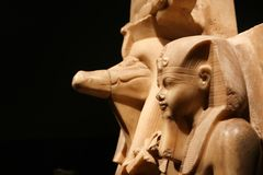 Statue At Luxor Museum - Egypt Stock Image
