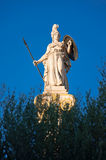 The statue of Athena. Athens, Greece. Stock Images