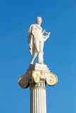 Statue of Athena in front of the Academy of Athens Stock Photo