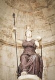 Statue of Athens Mars in Rome. Italy Royalty Free Stock Image