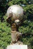 Statue of Atlas in the ZOO in Kolkata. India Stock Photos