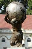Statue of Atlas in the ZOO in Kolkata Stock Photos