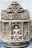 Statue au palais de ville, udaipur Images stock