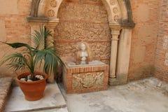 Statue au pueblo Espanol Image libre de droits
