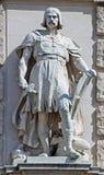 Statue auf dem Kaiserpalast in Wien Österreich Stockbild