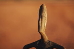 Statue auf See Ballard in Australien Stockbilder