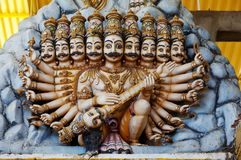 Statue auf Sri Lanka Lizenzfreie Stockbilder