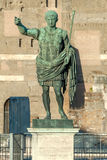 Statue of Augustus I, Rome, Italy. Statue of Augustus, the first Emperor of the Roman Empire I, Rome, Italy Stock Images